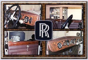 veneer restoration of interior woodwork in classic and vintage cars. Black Bedroom Furniture Sets. Home Design Ideas